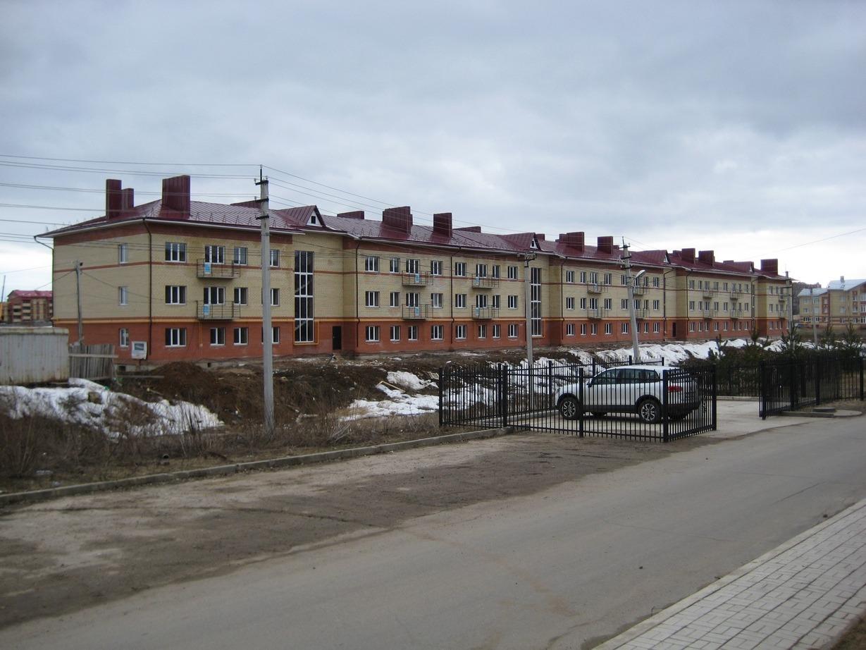 Многоквартирный жилой дом по ул. Воркутинская, 28