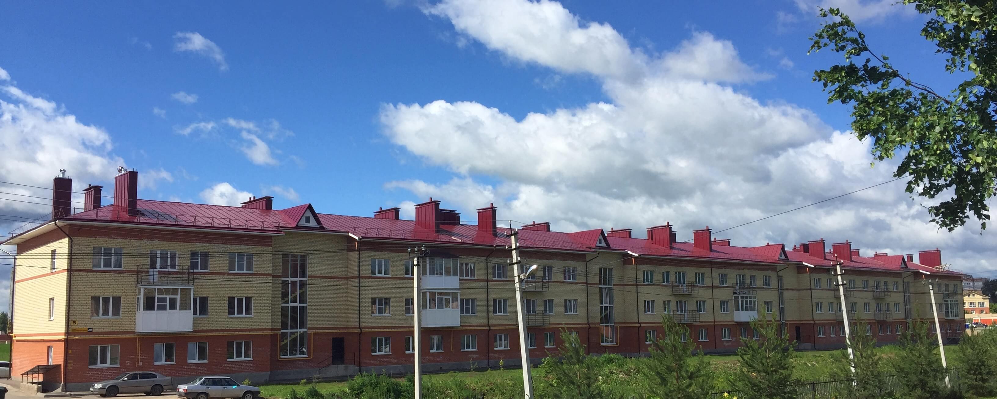 61-квартирный жилой дом по ул. Воркутинская, 28